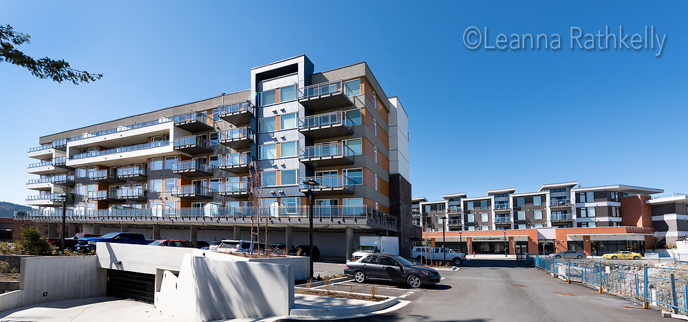Living space above commercial creates a vibrant mix of community at Whirlaway Crescent in Langford, BC