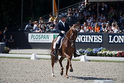 Jurado Lopez Severo Jesus, ESP, D Avie<br /> Longines FEI/WBFSH World Breeding Dressage Championships for Young Horses - Ermelo 2017<br /> © Hippo Foto - Dirk Caremans<br /> 06/08/2017