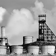 Mount Isa,Australia, (QSL), 2016: Exterior view of the Mount Isa, Mines Limited, Power Plant in Queensland, Australia. Signed and editioned prints available at 50x40cm. Get and touch, for commercial uses or other sizes.. Photographs by Alejandro Sala | Visit Shop Images to purchase and download a digital file and explore other Alejandro-Sala images…
