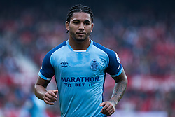 December 16, 2018 - Seville, Andalucia, Spain - Douglas Luiz of Girona CF during the LaLiga match between Sevilla FC and Girona at Estadio Ramón Sánchez Pizjuán on December 16, 2018 in Seville, Spain  (Credit Image: © Javier MontañO/Pacific Press via ZUMA Wire)