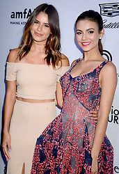 Madison Grace Reed and actress Victoria Justice attending the amfAR generationCURE Solstice at Mr. Purple on June 20, 2017 in New York City, NY, USA. Photo by Dennis Van Tine/ABACAPRESS.COM