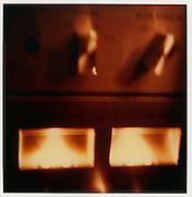 "From the series: ""L'heure bleue"" & ""Polaroid Work"". Original SX 70 polaroid images scanned. © Romano P. Riedo"