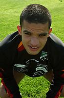 Kamal Saaliti, Hønefoss portretter 2005. <br /> Portretter 1. divisjon 2005. La Manga 2005. 22. mars 2005. (Foto: Peter Tubaas/Digitalsport).