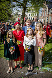 King Williem-Alexander and Queen Maxima with Princess Amalia , Princess Ariane and Princess Alexia attending King's Day Celebrations in Groningen, Netherlands, on April 27, 2018. Photo by Robin Utrecht/ABACAPRESS.COM