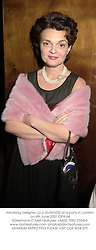 Handbag designer LULU GUINNESS at a party in London on 6th June 2001.OPA 64