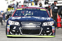 September 23, 2017 - Loudon, New Hampshire, United States of America - September 23, 2017 - Loudon, New Hampshire, USA: Kasey Kahne (5) takes to the track to practice for the ISM Connect 300 at New Hampshire Motor Speedway in Loudon, New Hampshire. (Credit Image: © Justin R. Noe Asp Inc/ASP via ZUMA Wire)