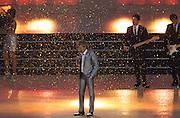 23.07.2014. Glasgow, Scotland. Glasgow Commonwealth Games. The opening ceremony. Scots singer Rod Stewart.