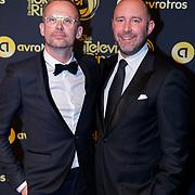 NLD/Amsterdam/20181011 - Televizier Gala 2018, Patrick Martens en .......