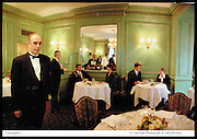 Grill Room, Connaught. 9/4/99 © Copyright Photograph by Dafydd Jones<br /> 66 Stockwell Park Rd. London SW9 0DA<br /> Tel 0171 733 0108