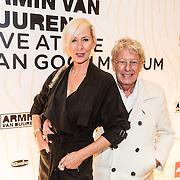 NLD/Amsterdam/20161021 - Armin van Buuren Live at the Van Gogh Museum, Jan des Bouvrie en partner Monique
