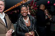 KEITH TAYLOR; FLOELLA BENJAMIN, The Centrepoint Paramount Club afterparty following the press night of 'Cat On A Hot Tin Roof', at the Novello Theatre, Aldwych, London.  1 December 2009