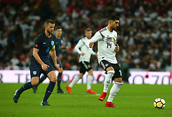 November 10, 2017 - London, England, United Kingdom - Emre Can of Germany ..during International Friendly match between England  and Germany  at Wembley stadium, London  on 10 Nov  , 2017 ..during International Friendly match between England  and Germany  at Wembley stadium, London  on 10 Nov  , 2017  (Credit Image: © Kieran Galvin/NurPhoto via ZUMA Press)