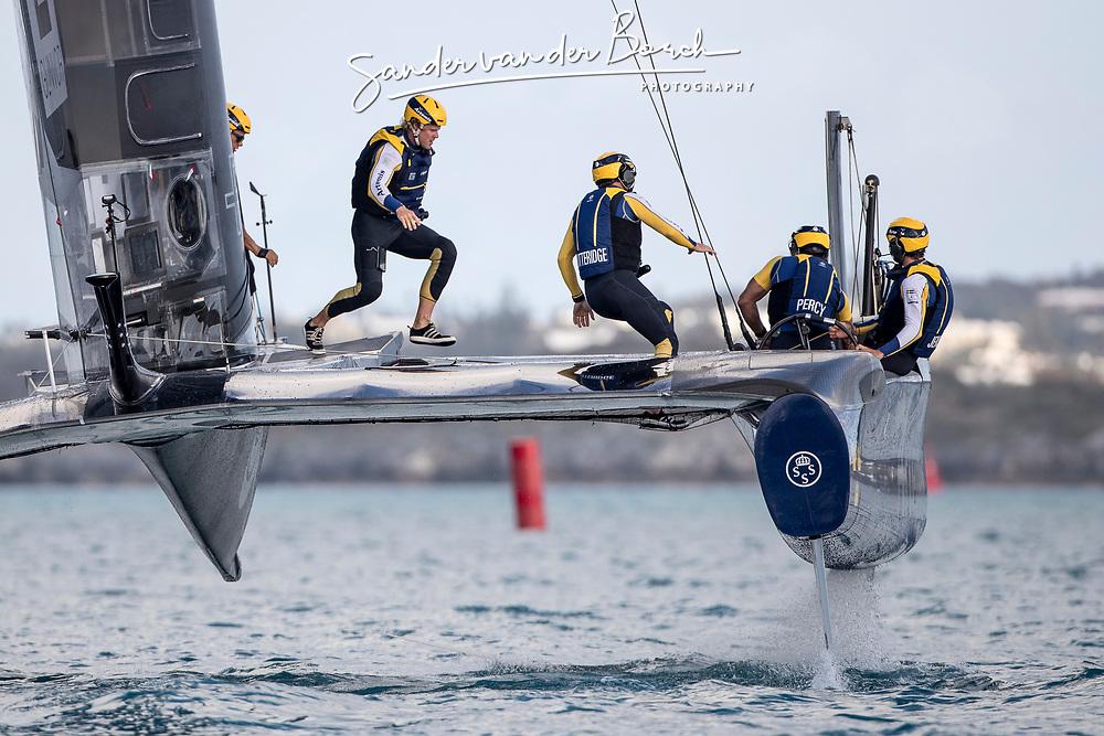 Artemis Racing. 28th of April, 2017, Bermuda