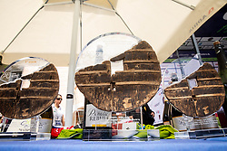 Trophies during 5th Stage of 26th Tour of Slovenia 2019 cycling race between Trebnje and Novo mesto (167,5 km), on June 23, 2019 in Slovenia. Photo by Vid Ponikvar / Sportida