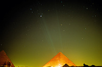 The Pyramid of Khufu (Cheops) at Giza, outside Cairo, Egypt