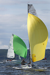 Peelport Clydeport, Largs Regatta Week 2014 Largs Sailing Club based at  Largs Yacht Haven.<br /> <br /> VX One, 179, Abracadabra, Howard Steavenson