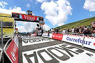 Illustration finish line at Col du Portet during the 105th Tour de France 2018, Stage 17, Bagneres de Luchon - Col du Portet (65 km) on July 25th, 2018 - Photo George Deswijzen / Pro Shots / ProSportsImages / DPPI