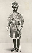 Haille Selassie (1892-1975) Regent of Ethopia 1916-1930 and Emperor 1930-1974.