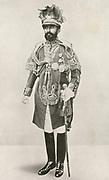Haille Selassie (1892-1975) Regent of Ethopia 1916-1930 and Emperor 1930-1974.