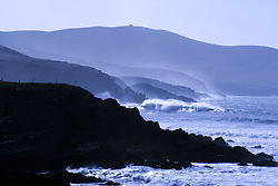 July 21, 2019 - St Finian's Bay, County Kerry, Ireland, Bolus Head In The Background (Credit Image: © Peter Zoeller/Design Pics via ZUMA Wire)