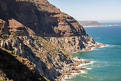 January 3, 2018 - Cape Town, Western Cape, South Africa - View of the rocky coastline of Hout Bay in Cape Town, South Africa (Credit Image: © Edwin Remsberg / Vwpics/VW Pics via ZUMA Wire)