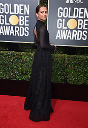 Kit Harington at the 75th Annual Golden Globe Awards held at the Beverly Hilton Hotel on January 7, 2018 in Beverly Hills, CA ©Tammie Arroyo-GG18/AFF-USA.com. 07 Jan 2018 Pictured: Alicia Vikander. Photo credit: MEGA TheMegaAgency.com +1 888 505 6342