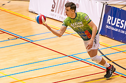 Colin Zuijdgeest of Orion in action during the league match between Active Living Orion vs. Amysoft Lycurgus on March 20, 2021 in Doetinchem.