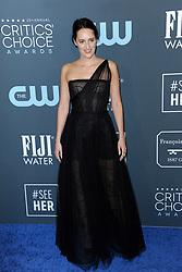 Phoebe Waller-Bridge at the 25th Annual Critics' Choice Awards held at the Barker Hangar in Santa Monica, USA on January 12, 2020.