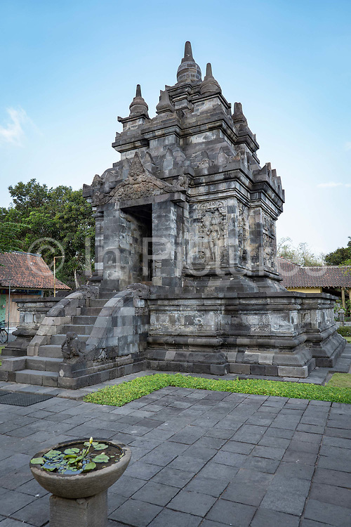 Pawon Temple is a Buddhist temple at Borobudur on the 25th October 2019 in Java in Indonesia.