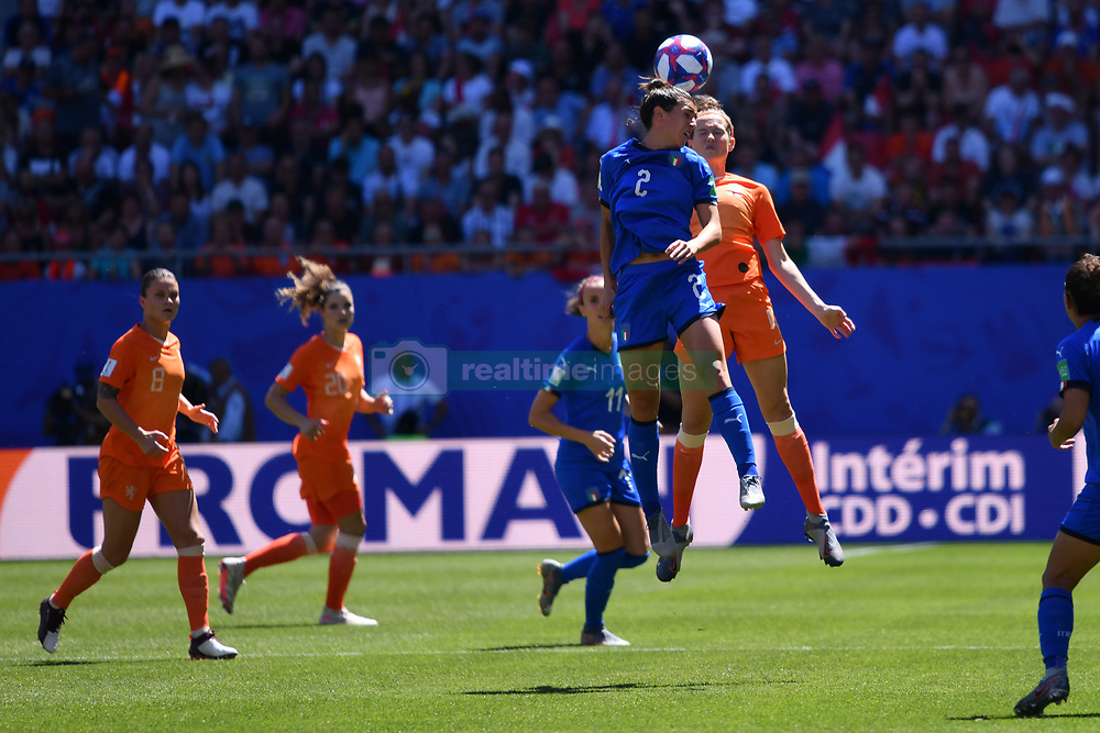 June 30, 2019 - Valenciennes, France - Valentina Bergamaschi (ITA) during the quarter-final between in ITALY and NETHERLANDS the 2019 women's football World cup at Stade du Hainaut, on the 29 June 2019. (Credit Image: © Julien Mattia/NurPhoto via ZUMA Press)
