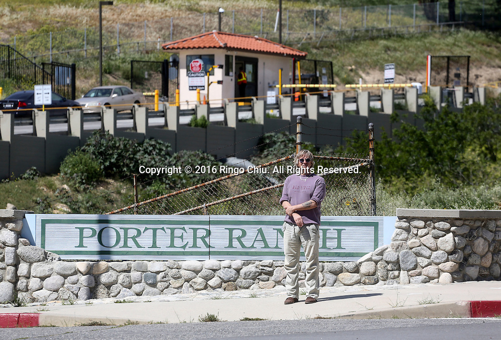 Community activist  Matt Pakucko photographed at Aliso Canyon in Porter Ranch. (Photo by Ringo Chiu/PHOTOFORMULA.com)<br /> <br /> Usage Notes: This content is intended for editorial use only. For other uses, additional clearances may be required.