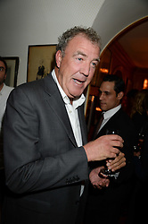 JEREMY CLARKSON at an exhibition of the 50 best party pictures from Tatler from the past 50 years, held at Annabel's, Berkeley Square, London on 9th September 2013.