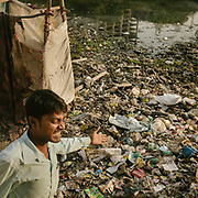 """""""This is our fate""""…. Life in the burrough. The area along the Shahadra open sewer is so polluted that it is inhabited by people who can't afford housing in other parts of delhi. Life in GG Colony, in sector 16 in Noida."""