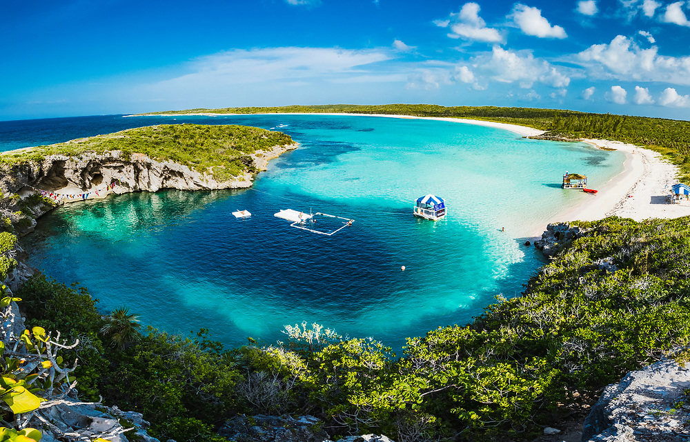 Deans Blue Hole on Long Island, Bahamas is a world-famous freediving site due to it's relative protection from the winds, easy access and, of course, extreme depth. Two days before this image was taken a new world-record was set here.