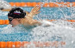 02-04-2015 NED: Swim Cup, Eindhoven<br /> Anja Klinar SLO 200m medley<br /> Photo by Ronald Hoogendoorn / Sportida