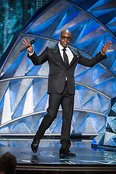 """March 4, 2018 - Hollywood, California, U.S. - Dave Chapelle presents live performance of """"Stand Up for Something"""" from """"Marshall"""" during the live ABC Telecast of The 90th Oscars at the Dolby Theatre in Hollywood. (Credit Image: ? Aaron Poole/AMPAS via ZUMA Wire/ZUMAPRESS.com)"""