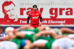 Scarlets' Leigh Halfpenny<br /> <br /> Photographer Simon King/Replay Images<br /> <br /> EPCR Champions Cup Round 3 - Scarlets v Benetton Rugby - Saturday 9th December 2017 - Parc y Scarlets - Llanelli<br /> <br /> World Copyright © 2017 Replay Images. All rights reserved. info@replayimages.co.uk - www.replayimages.co.uk