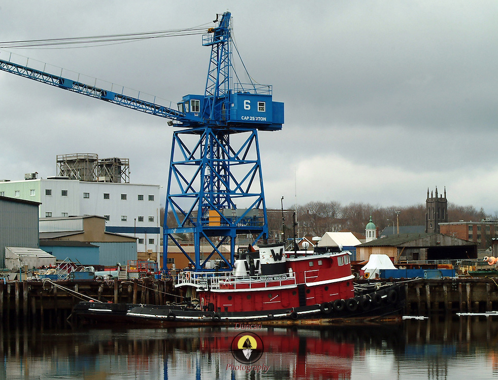 Shot From Kennebec River. 3/25/2007 Photo © 2007 by Roger S. Duncan ..