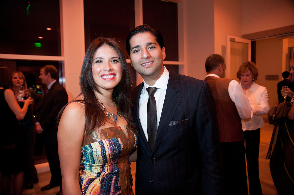 The Four Seasons Residences Austin hosted a party Friday night for current, future and prospective residents. Joining others in attendance were Crystal and Fernando Gonzalez.