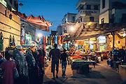 The Nubian market in downtown Aswan