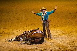 Show before Prizegiving<br /> Longines FEI World Cup™ Dressage Final I<br /> Las Vegas 2015<br />  © Hippo Foto - Dirk Caremans<br /> 17/04/15