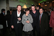 CCRORY, JAMES PUREFOY AND TOM HOLLANDER, Tom Cairns directs Almeida Fundraising Benefit sponsored by Coutts and Co. -A Chain Play by Samuel Adamson, Moira Buffini, David Hare, Charlotte Jones, Frank McGuinness and Roy Williams. Almeida theatre. London. 23 March 2007.  -DO NOT ARCHIVE-© Copyright Photograph by Dafydd Jones. 248 Clapham Rd. London SW9 0PZ. Tel 0207 820 0771. www.dafjones.com.