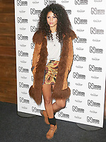 Vick Hope, Natural History Museum Ice Rink - Launch Event, London UK, 25 October 2017, Photo by Brett D. Cove