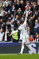 27.01.2013 SPAIN -  La Liga 12/13 Matchday 21th  match played between Real Madrid CF vs Getafe C.F. (4-0) at Santiago Bernabeu stadium. The picture show  Sergio Ramos (Spanish defender of Real Madrid)