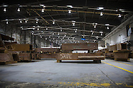 Artifacts chosen by curators out of the wreckage  from the World Trade Center  stored within an 80,000 square foot hanger at JFK airport, Hanger 17. Some of the artifacts will be in the National September 11 Memorial Museum set to open in 2012.
