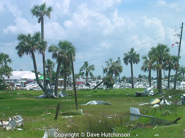 USA: Florida: Charlotte County: Punta Gorda: Hurricane Charley made landfall the afternoon of Friday, August 13, 2004 as a Category 4 hurricane.  The storm moved very fast and caused widespread devastation with minimal flooding or loss of life. Dave Hutchinson served as Florida Department of Transportation Liaison to the Charlotte County Emergency Operations Center.