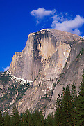 Afternoon light on Half Dome, Yosemite Valley, Yosemite National Park (World Heritage Site), California
