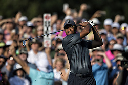 May 11, 2018 - Ponte Vedra Beach, FL, USA - The Players Championship 2018 at TPC Sawgrass..TIger Woods on 10 tee. (Credit Image: © Bill Frakes via ZUMA Wire)