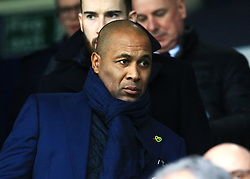 Ex player Les Ferdinand takes his seat before kick off