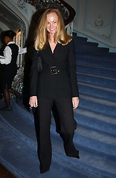 ANNA BILTON former wife of Anton Bilton at jewellers Tiffany's Christmas party held at The Savile Club, 69 Brook Street, London on 14th December 2004.<br />